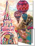 Ballons Sur Paris Prints by Natasha Wescoat