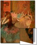 Scene De Ballet or Balleteuses Art by Edgar Degas