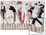 The Tango Prints by Georges Barbier