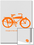 I Thought Of That While Riding My Bike Prints by  NaxArt
