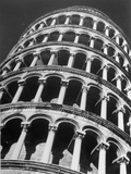 The Famous Leaning Tower, Spared by Shelling in Wwii, Still Standing, Pisa, Italy 1945 Photographic Print by Margaret Bourke-White