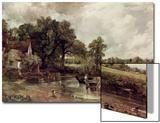 The Haywain Art by John Constable