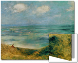 Seashore at Guernsey, 1883 Posters by Pierre-Auguste Renoir