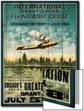 Great Lakes Flying Boats Kunstdrucke von Kate Ward Thacker