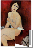 Large Seated Nude Prints by Amedeo Modigliani
