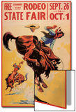 Rodeo State Fair, c.1940 Posters