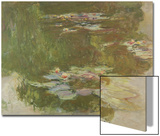 Lily Pond, 1881 Poster di Claude Monet