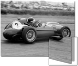 Mike Hawthorn in Ferrari, 1958 British Grand Prix Prints