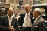 Clothing Pressers Herman Abrams, Joseph Spitalnick, and Philip Ehrlich, New York, New York, 1960 Fotografisk tryk af Walter Sanders