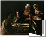 Supper at Emmaus, 1606 Prints by  Caravaggio