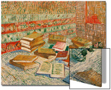 The Yellow Books, c.1887 Prints by Vincent van Gogh
