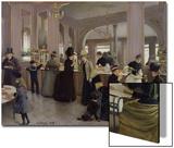 La Patisserie Gloppe, Champs Elysees, Paris, 1889 Prints by Jean Béraud