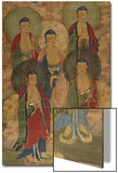 A Very Rare Buddhist Votive Painting, Dated Wanli 19th Year Print