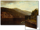 Boating on Lake George, 1870 Prints by David Johnson