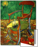 Gauguin's Chair (With Candle), 1888 Art by Vincent van Gogh