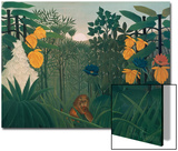 The Repast of the Lion, about 1907 Prints by Henri Rousseau