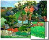 Landscape at Pont Aven, 1888 Prints by Paul Gauguin