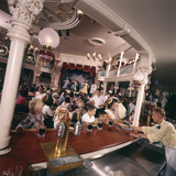 July 17 1955: Children's Saloon, the Golden Horseshoe Soft Drink Concessionaire, Disneyland, Ca Photographic Print by Loomis Dean
