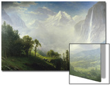 Majesty of the Mountains Print by Albert Bierstadt