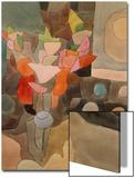 Stillleben mit Gladiolen Kunstdruck von Paul Klee
