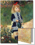 Girl with Watering Can, 1876 Prints by Pierre-Auguste Renoir