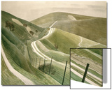 Chalk Paths Prints by Eric Ravilious