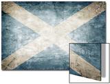 Scotland Flag Prints by  kwasny221
