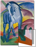 Blaues Pferd I., 1911 Poster by Franz Marc