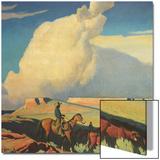 Open Range, 1942 Poster by Maynard Dixon