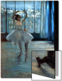 Dancer in Front of a Window (Dancer at the Photographer's Studio) circa 1874-77 Print by Edgar Degas