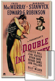 Double Indemnity, 1944, Directed by Billy Wilder Print