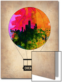 Chicago Air Balloon Posters by  NaxArt
