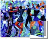 Joyful Dance Posters by Diana Ong