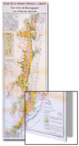 Map of the Wines of the Burgundy Region: Cote De Beaune Art