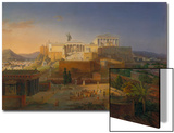 The Acropolis of Athens, 1846 Prints by Leo Von Klenze