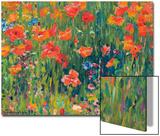Poppies, 1888 Kunst von Robert William Vonnoh