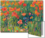 Poppies, 1888 Prints by Robert William Vonnoh