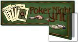 Poker Night Poster von Kate Ward Thacker