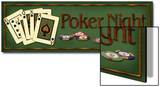 Poker Night Posters by Kate Ward Thacker