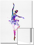 Ballerina Dancing Watercolor 2 Prints by Irina March