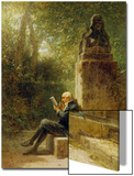 The Philosopher (The Reader in the Park) Posters by Carl Spitzweg