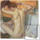 Woman Combing Her Hair, circa 1886 Posters by Edgar Degas
