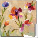 Bold Bright Flowers III Art by Silvia Vassileva