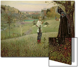 The Vision of the Young Bartholomew, 1889-90 Print by Mikhail Vasilievich Nesterov