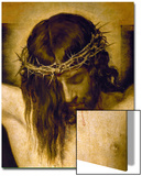 Crucified Christ (Detail of the Head), Cristo Crucificado Posters by Diego Velázquez