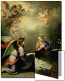 The Annunciation Prints by Bartolome Esteban Murillo