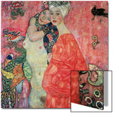 Women Friends, 1916-17 (Destroyed in 1945) Prints by Gustav Klimt