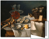 Still Life with Cat Prints by Alexandre-Francois Desportes