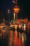 1945: Street Scene Outside of Hotels on East 43rd Street by Times Square, New York, Ny Photographic Print by Andreas Feininger