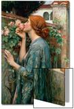 The Soul of the Rose, 1908 Kunst av John William Waterhouse